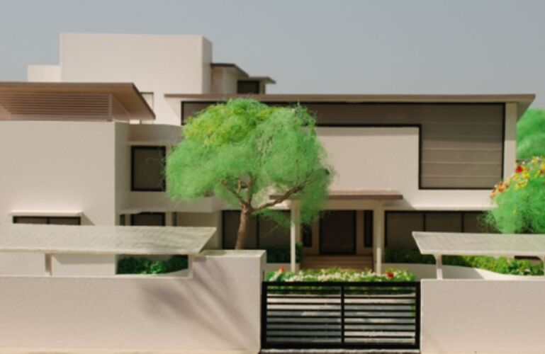 Satrangi House, Mhow, Indore